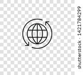 worldwide icon from  collection ... | Shutterstock .eps vector #1421784299
