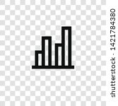 bar chart icon from... | Shutterstock .eps vector #1421784380