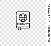 geography icon from geography...   Shutterstock .eps vector #1421799650