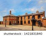 liverpool  uk   may 17 2018 ... | Shutterstock . vector #1421831840