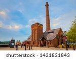 liverpool  uk   may 17 2018 ... | Shutterstock . vector #1421831843