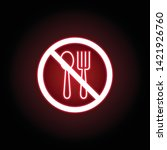forbidden eating  fork spoon...