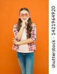 optics and eyesight treatment.... | Shutterstock . vector #1421964920