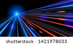 vector art of dynamic light... | Shutterstock .eps vector #1421978033