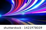 vector art of dynamic light... | Shutterstock .eps vector #1421978039