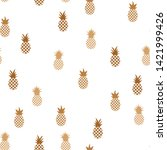 vector seamless pattern with... | Shutterstock .eps vector #1421999426