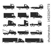 transport design over white...   Shutterstock .eps vector #1422024773