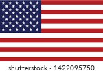 american flag 4th july... | Shutterstock .eps vector #1422095750