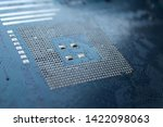 old computer hardware colorful... | Shutterstock . vector #1422098063