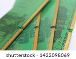 old computer hardware colorful... | Shutterstock . vector #1422098069
