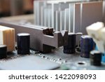 old computer hardware colorful... | Shutterstock . vector #1422098093