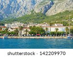a beautiful promenade sea of... | Shutterstock . vector #142209970