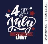4th  america  american ... | Shutterstock .eps vector #1422113153