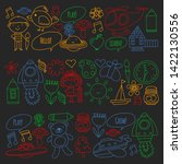 vector icons and elements.... | Shutterstock .eps vector #1422130556