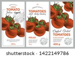tomato ketchup  sauce  juice... | Shutterstock .eps vector #1422149786