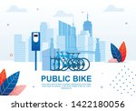 creative urban transportation ... | Shutterstock .eps vector #1422180056