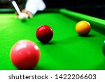 Game Snooker Billiards Or...
