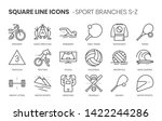 sport branches related  square... | Shutterstock .eps vector #1422244286
