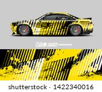 car wrap decal design concept.  ...   Shutterstock .eps vector #1422340016