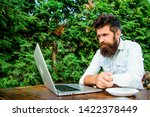 remote job. freelance... | Shutterstock . vector #1422378449