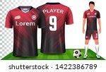soccer jersey  sport shirt or...   Shutterstock .eps vector #1422386789