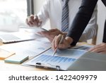 financial and investment... | Shutterstock . vector #1422409979
