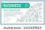 business incubator banner ...