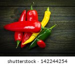 Red Yellow Orange Bell Peppers...