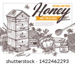 Natural Flower Floral Honey...