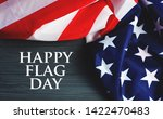 happy usa flag day background....   Shutterstock . vector #1422470483
