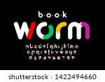 modern font design  trendy... | Shutterstock .eps vector #1422494660