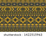boho pattern tribal ethnic... | Shutterstock .eps vector #1422515963