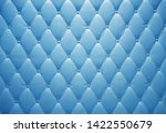 vintage blu velor sofa with... | Shutterstock . vector #1422550679