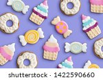 Cookies Variety Pattern On A...