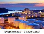 oil tank in cargo service... | Shutterstock . vector #142259350