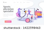 training injuries treatment ...   Shutterstock .eps vector #1422598463