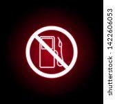 forbidden gasoline filling icon ...