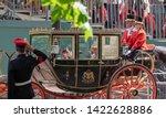 london uk. june 2019. queen... | Shutterstock . vector #1422628886