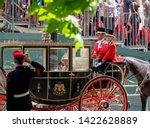london uk. june 2019. queen... | Shutterstock . vector #1422628889