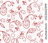 seamless vector pattern with...   Shutterstock .eps vector #1422642599