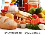 composition with variety of... | Shutterstock . vector #142265518