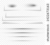 transparent realistic paper...   Shutterstock .eps vector #1422673163