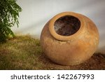 large greek pot outside | Shutterstock . vector #142267993