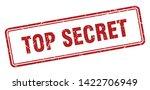 top secret square grunge... | Shutterstock .eps vector #1422706949