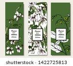 herbal illustration on label... | Shutterstock .eps vector #1422725813