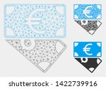 mesh euro and dollar banknotes... | Shutterstock .eps vector #1422739916