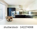 interior luxury apartment ...   Shutterstock . vector #142274008