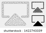 mesh enter model with triangle... | Shutterstock .eps vector #1422743339
