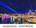 sydney city cbd waterfront of... | Shutterstock . vector #1422780260