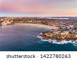 north bondi sandstone cliff of... | Shutterstock . vector #1422780263